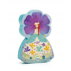 Fairy Princess of Spring Silhouette Puzzle